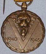 Belgian WW2 & Resistance Medals