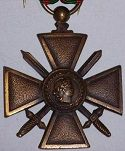 French War Cross (Croix de Guerre)