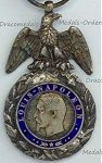 French Military Medal (Valor & Discipline) - Empire & Republic