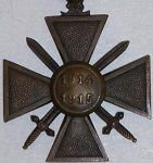 France WWI War Cross (Croix de Guerre)