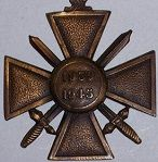 France WWII War Cross (Croix de Guerre)
