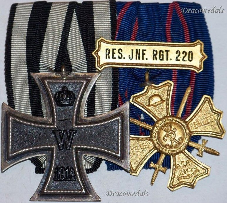 Iron Cross (1813 - 1939) Medal Sets & Groups