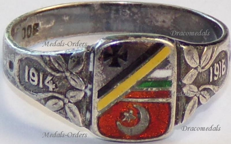 WWI Patriotic Rings
