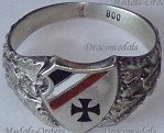 German WWI Patriotic Rings