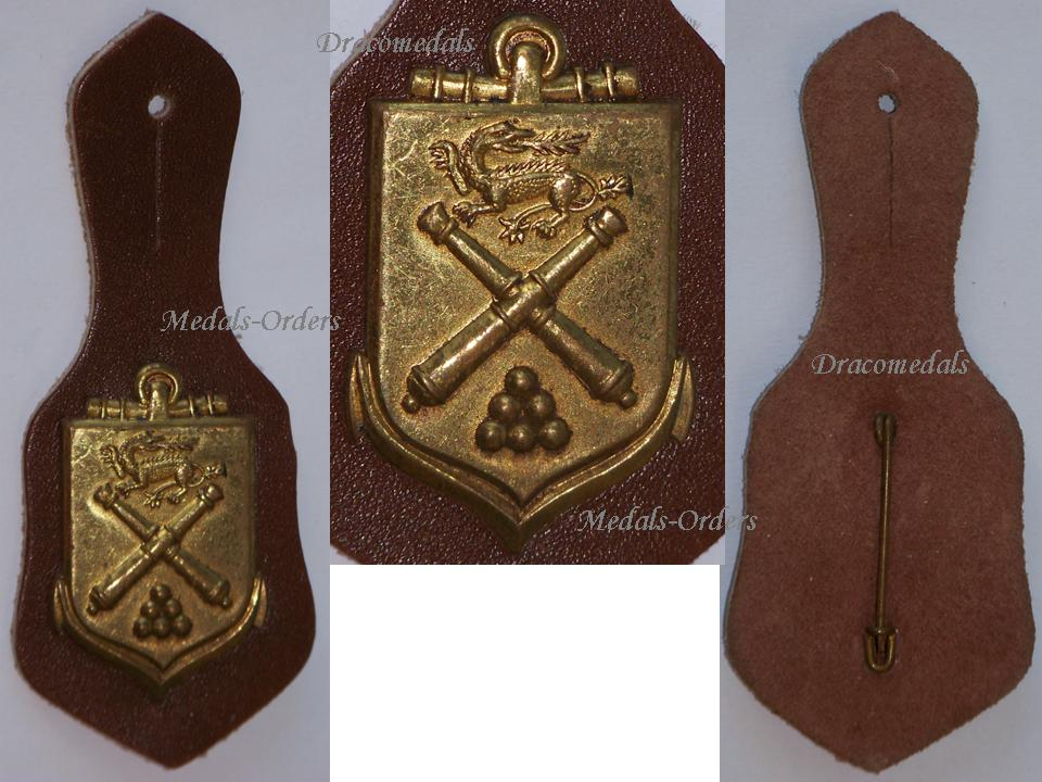 france school applied artillery badge french army insignia