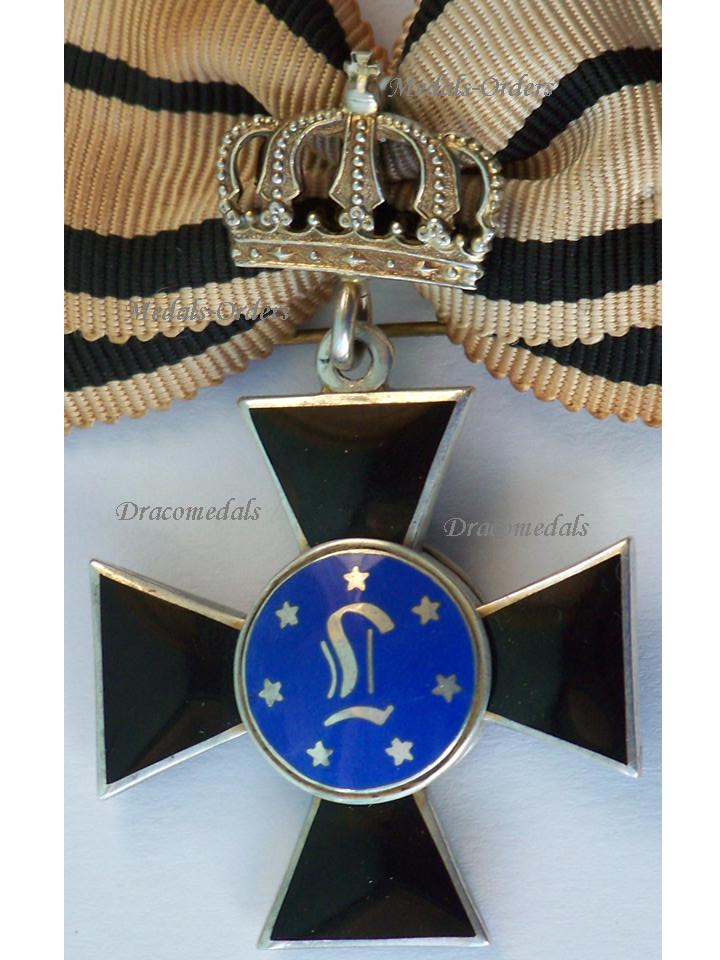 Germany Ww1 Royal Order Louise Prussia Crown 2nd