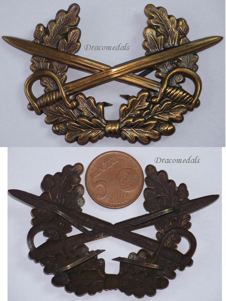 West Germany Nco Army Cap Badge German Military Bundeswehr